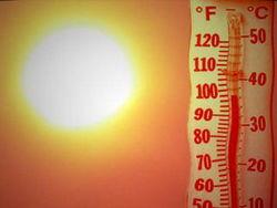 Рекордная жара охватила весь мир