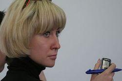 Журналистка Марина Коктыш