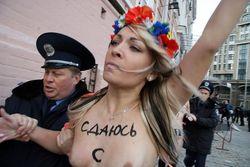 Гонорары скандалисток от FEMEN