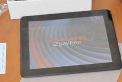 В Киеве презентовали украинский планшет Senkatel ZnayPad