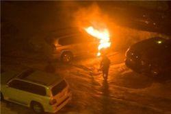 Кто спалил Мерседес и еще 3 тачки в Киеве?