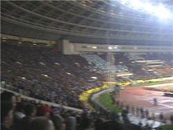 За что задержали болельщиков после матча Локомотив-Динамо?