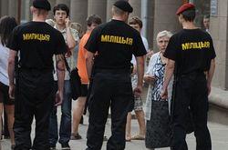 Слезы в Беларуси – милиция применяет слезоточивый газ