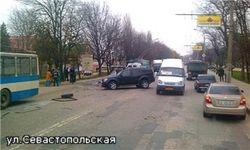 Пять человек угодили в больницу из-за ДТП в Симферополе
