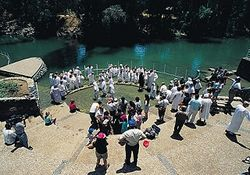 Власти Израиля открывают туристам место крещения Иисуса