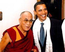 Обама встретился с Далай ламой в «скромном» кабинете?