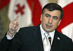 К каким действиям Саакашвили призывает ЕС?