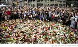 Норвежцы почтили память погибших