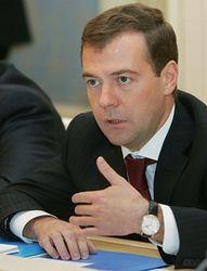 Медведев считает, что Саакашвили достоин трибунала?