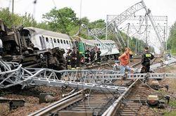 Какие последствия крушения поезда в Польше?