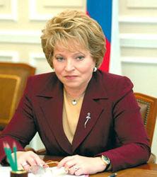 Кому Матвиенко делегирует свои полномочия?