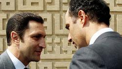 Сыновей Мубарака по-прежнему держат под стражей