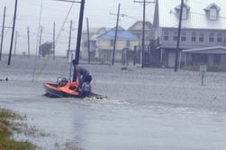 Как проявляет себя шторм «Ли» на побережье США?