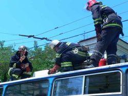 В Новосибирске два дня подряд горят автобусы
