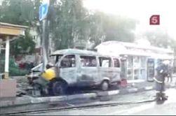 В Пензе взорвалось маршрутное такси, есть жертвы
