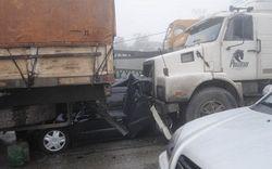 К каким последствиям привела авария 300 авто в Бразилии?