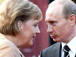 Путин или Меркель – кому достанется премия мира?