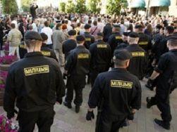 За «Выборы без оппозиции» полиция разогнала пикетчиков