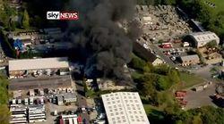 Каковы последствия мощного взрыва в Великобритании?