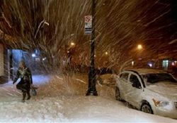 Румыния во власти снега