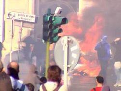 Массовые акции протеста дестабилизируют мировые рынки