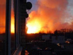 Какие причины того, что в Подмосковье сгорела военная база?