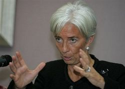 Лагард рассказала о мощи России в кризисный период