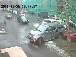 Камеры зафиксировали «голливудскую» погоню в Москве