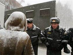 У стен минского СИЗО народ требовал освободить задержанных оппозиционеров