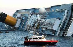 В крушении судна виноваты составители карты?