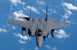 Два военных самолета разбились на Ближнем Востоке