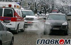 Чьи на самом деле авто столкнулись в центре Киева?