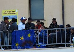 Ночью в Греции избивали мигрантов