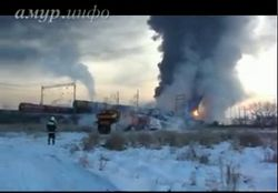 Что привело к сходу вагонов с нефтью в Амурской области?