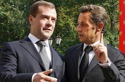 Саркози не смог поговорить с Медведевым о «позорной» ситуации