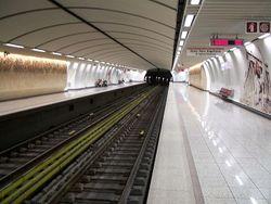 В афинском метро могла произойти кровавая трагедия
