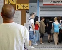 Уровень безработицы в еврозоне зашкаливает
