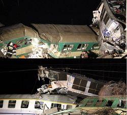 Серьезная железнодорожная авария в Польше: число жертв растет