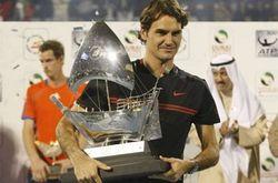 Швейцарец Федерер заработал на корте еще 400 тысяч долларов