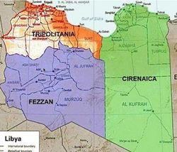 Ливия на пороге гражданской войны: страну делят на части