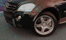 Француз погиб под колесами Mercedes ML 63 AMG в Москве
