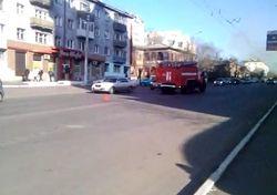 В Москве и Чите за сутки произошли две аварии с пожарными авто