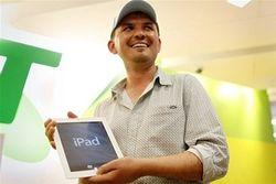 Инвесторам: стартовали продажи iPad