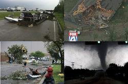 Десяток торнадо в Техасе за сутки опустошили регион