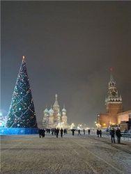 Красная площадь в новогоднюю ночь будет открыта
