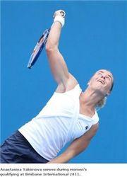 Белорусские теннисистки вылетели из турнира в Брисбене