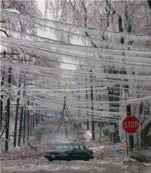 Ледяной дождь обрушился на юг Китая
