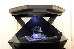 Голографический экран – смотри ТВ под любым углом