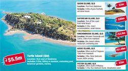 В Австралии подешевела стоимость … островов?