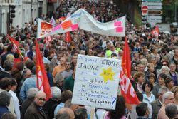 забастовки, Брюссель